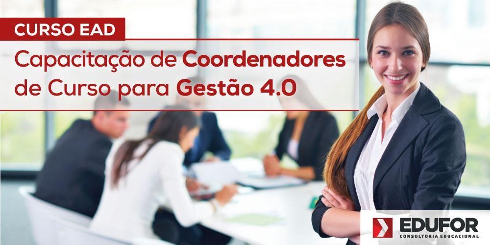Capacitação de Coordenadores de Curso para Gestão 4.0