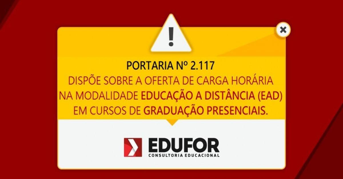 PORTARIA Nº 2.117, DE 6 DE DEZEMBRO DE 2019